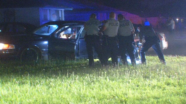 Two Arrested In Bizarre Police Chase Through OKC Neighborhood