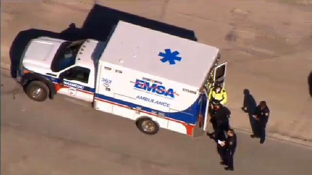 Authorities Investigate Hit-And-Run Crash In Downtown OKC