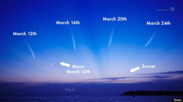 Conditions Great For Seeing Comet Pan-STARRS Wednesday Night