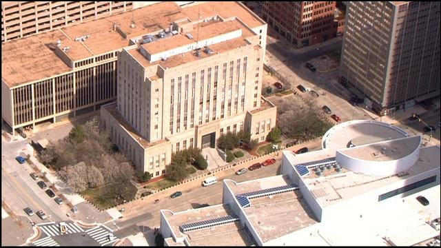 Bomb Threat Cleared, Workers Return To Oklahoma County Courthouse