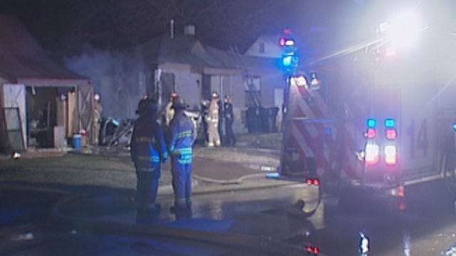 One Person Killed In Travel Trailer Fire In NW OKC