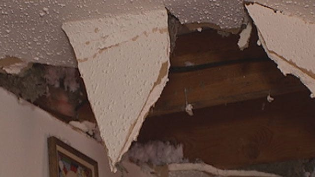 Accused Burglar Falls Through Ceiling Of SW OKC Home