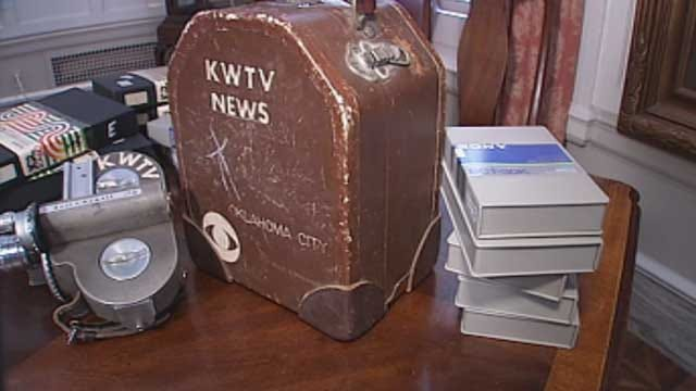 Griffin Communications Donates Tapes To OK Historical Society