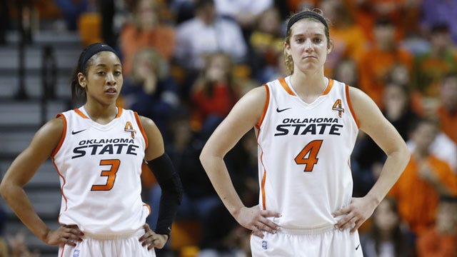 Cyclones Rally To Upend Cowgirls