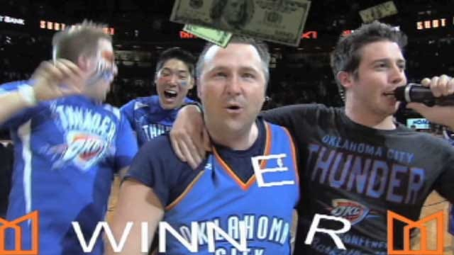 Del City Family Battling Cancer Makes $20K Shot At Thunder Game