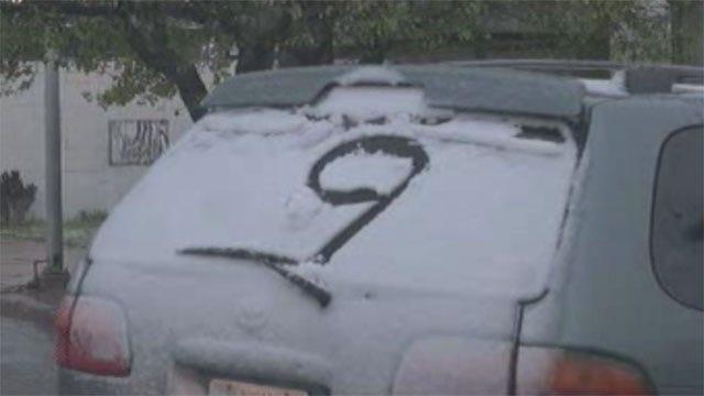 May Brings Cold, Snow To Oklahoma