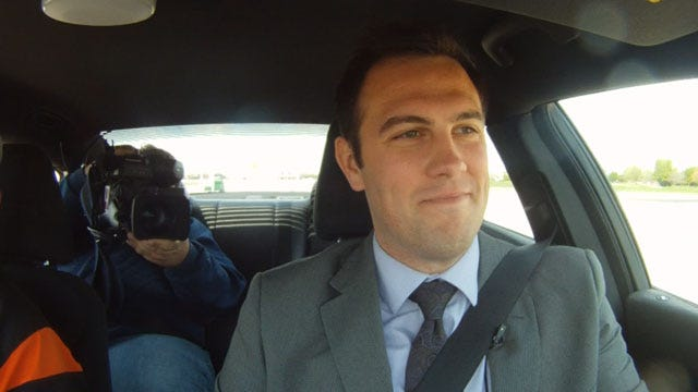 News 9's Chris McKinnon Puts Texting & Driving To The Test