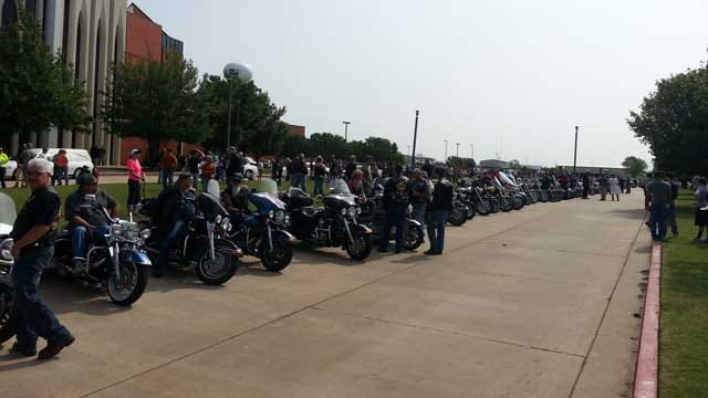 9-Year-Old Tornado Victim Laid To Rest; Motorcyclists, Strangers Show Support