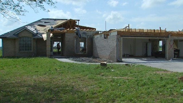 Family Moves Into Home Three Days Before Tornado Destroys It