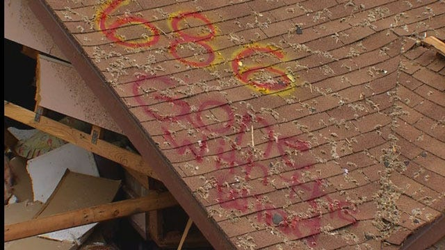 Humorous Messages Spotted On Moore Homes Destroyed By Tornado