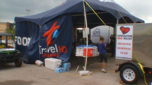 KC Non-Profit BBQ Company Provides Meals To Tornado Victims