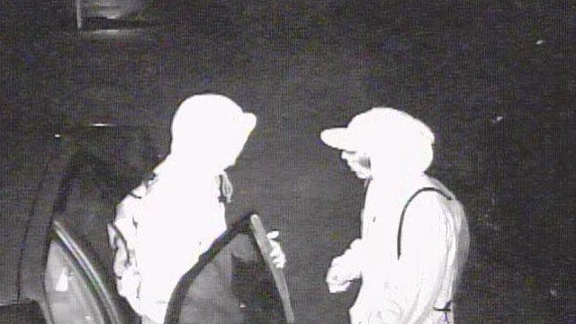 Police Hope Surveillance Footage Helps Catch Car Burglars