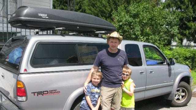 Thieves Steal Alaska Family's Truck, Trailer