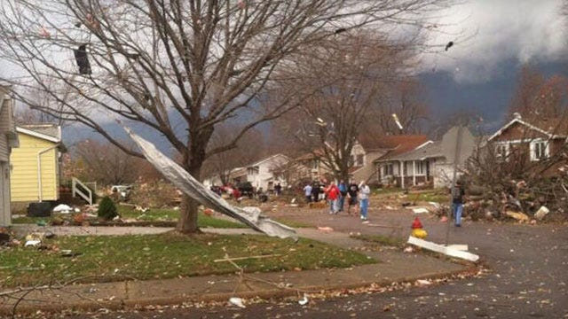 Severe Storms, Tornadoes Cause Damage In Illinois Communities