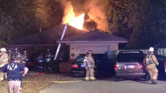 Firefighters Knock Down House Fire In NW OKC