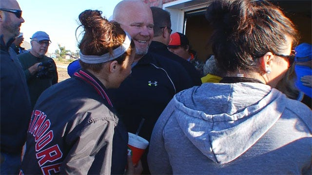 'God's Pit Crew' Builds New Homes For Moore Tornado Victims