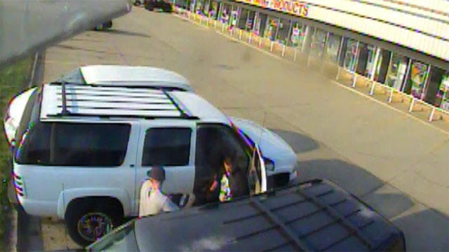 Camera Records Car Burglary Outside OKC Auto Parts Store