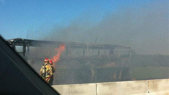 Norman High School Band's Instruments Destroyed In Bus Fire