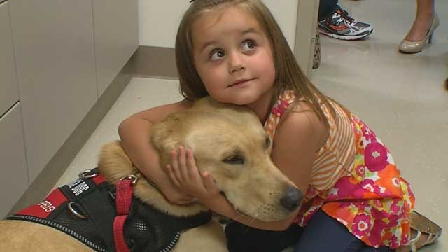 Enid Family Uses Diabetic Alert Dog To Monitor Young Daughter