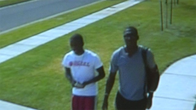 Suspects In SW OKC Home Burglary Caught On Surveillance Cameras