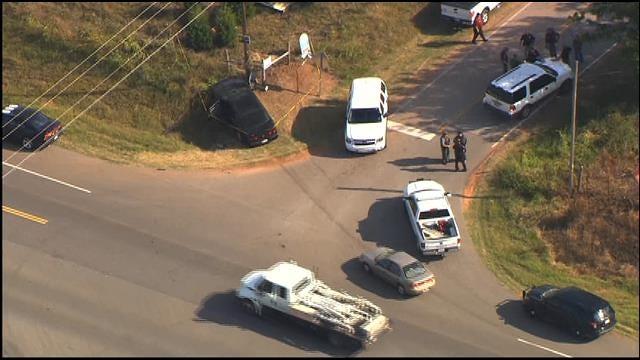 Manhunt Underway Near Tecumseh