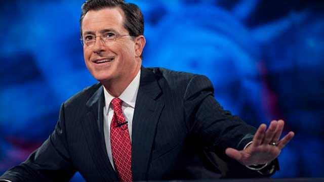 """Stephen Colbert to replace David Letterman on """"Late Show"""""""