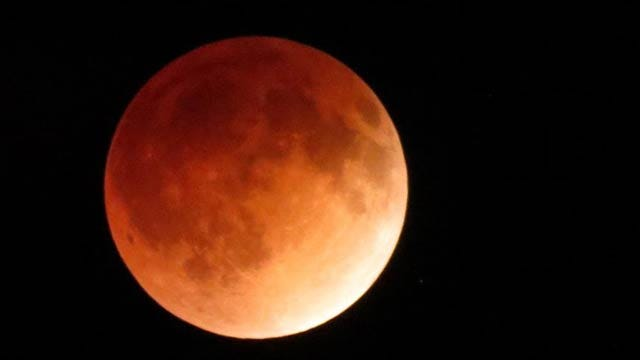 News 9 Viewers Share Photos Of 'Blood Moon' Over Oklahoma