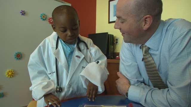 Edmond Boy Treated For Brain Tumor Aspires To Become Doctor