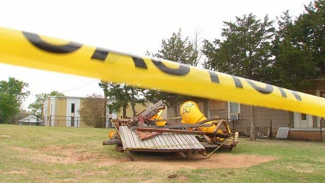 Vandals Destroy OKC Playground Dedicated To Fallen Soldier