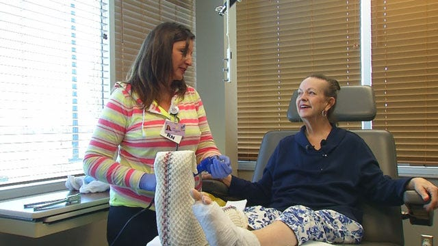 New Team Of Doctors Help Norman Woman Walk Again