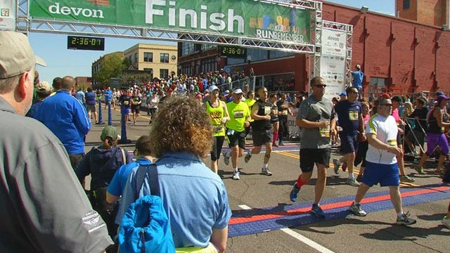 Oklahomans Win Oklahoma City Memorial Marathon