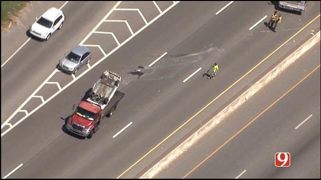 I-240 WB In SW OKC Back Open Following Rollover Crash
