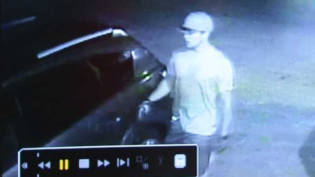 Choctaw Homeowners Catch Suspect On Camera Breaking Into Cars