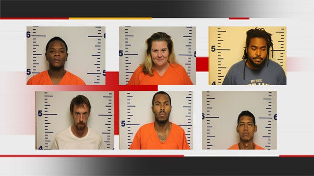 Six Arrested During Drug Raids In Guthrie