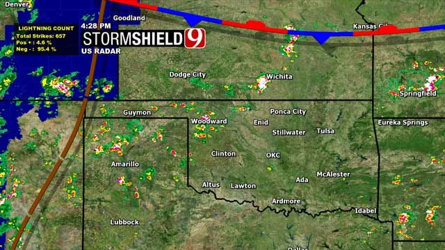 End Of The Week Rain Brings Some Relief To Oklahoma Heat