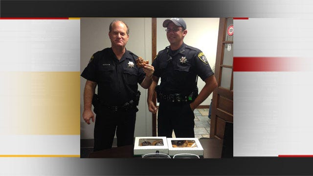 Boy Apologizes To Seminole Police With Donuts After False 911 Call