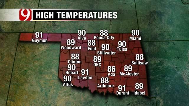 Warmer Weather On The Way To Oklahoma