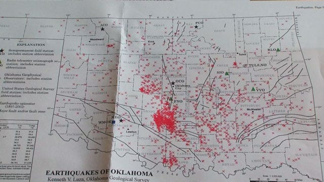 Oklahoma Lawmaker Pushes For Earthquake Task Force