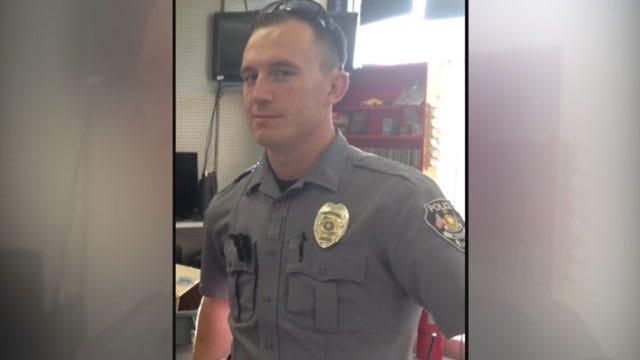 Friend Recalls Rushing To Rescue McLoud Officer Injured In Crash