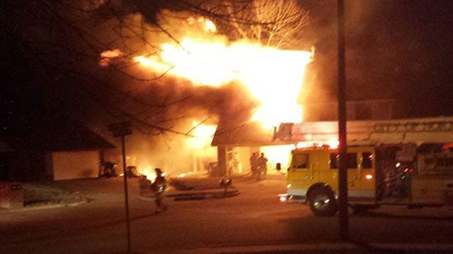 Duplex Fire Displaces Two Norman Families