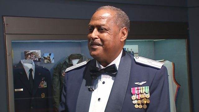 History Museum Honors OK's 1st Black Air Force general