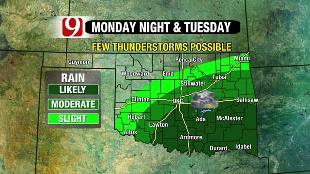 Winter Weather Returns, Thunderstorms Possible Monday Night
