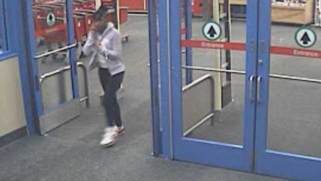Accused Shoplifters At OKC Target Caught On Camera