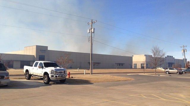 Two Grass Fires Burning Around Oklahoma City