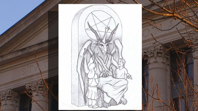 Support Growing For Satanic Monument At OK Capitol