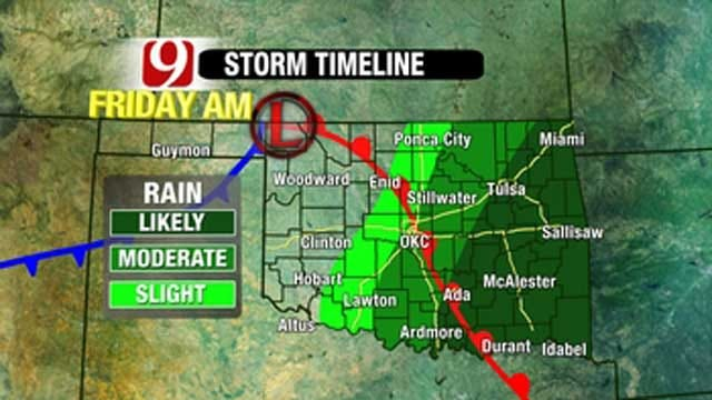 Wintry Mix To Bring Dense Fog, Rain And Patchy Drizzle In OK