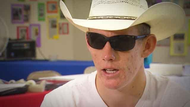 Blind Teenager Competes In Bareback Riding Events In Shawnee