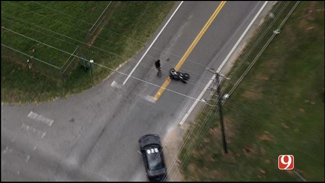 Suspect Arrested After High-Speed Chase In Oklahoma County