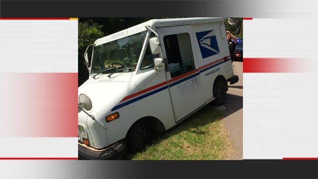 Woman Arrested For DUI After Driving USPS Truck Into Ditch