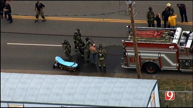 Hazmat Crews Called To Acid Spill In SW OKC
